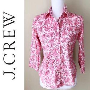 J CREW • Paisley Button Down Shirt